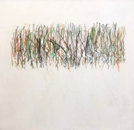 Ron Kingswood as an Abstract Painter